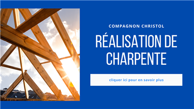 Photo n°9 : charpentier par Compagnon christol